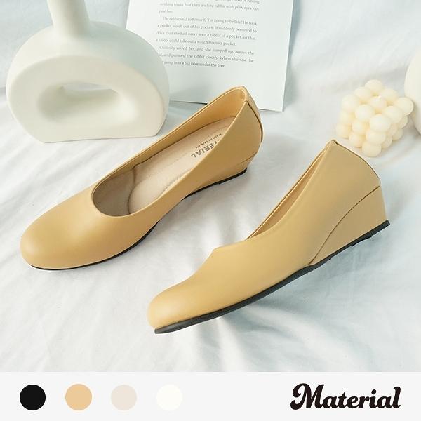跟鞋 圓頭素面跟鞋 MA女鞋 T72850
