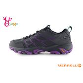 MERRELL 成人女款 GTX防水速乾 黃金大底 登山越野運動鞋_ML65592 H8394#灰紫◆OSOME奧森鞋業