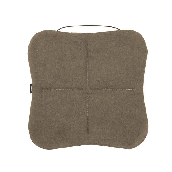 丹麥 Elvang Multifunctional Picnic Alpaca Wool Seat Pad 超輕量 攜帶型 羊駝毛 個人坐墊(咖啡綠)