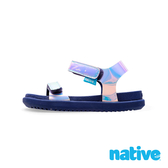 native 小童鞋 CHARLEY 小查理涼鞋-雷射藍x海軍藍