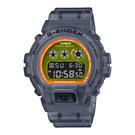 CASIO 卡西歐 手錶專賣店 DW-6900LS-1 G-SHOCK 半透明螢光材質 礦物玻璃 防水200米 耐衝擊構造