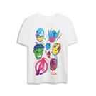 Gap男童Gap x Marvel漫威系列棉質舒適圓領短袖T恤551233-光感亮白