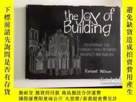 二手書博民逛書店The罕見Joy of Building: Restoring