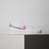 Nike Court Royale 2 女鞋 白粉 基本 舒適 簡約 皮革 休閒鞋 CU9038-101
