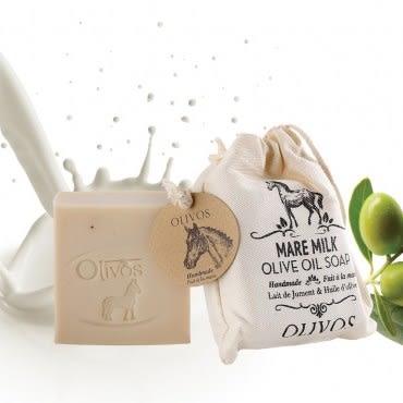 【Olivos 奧莉芙的橄欖】滋養嫩膚馬奶橄欖皂 150G