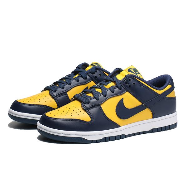 NIKE 休閒鞋 密西根 DUNK LOW 黃藍 板鞋 男 (布魯克林) DD1391-700