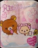 HAYASHI拉拉熊印花滾筒衛生紙(30m/4捲1袋)