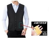 ( 創意 - 簡約 - 時尚 ) 男女電加熱背心, USB充電智能發熱, 保暖, 四季保健 ~4