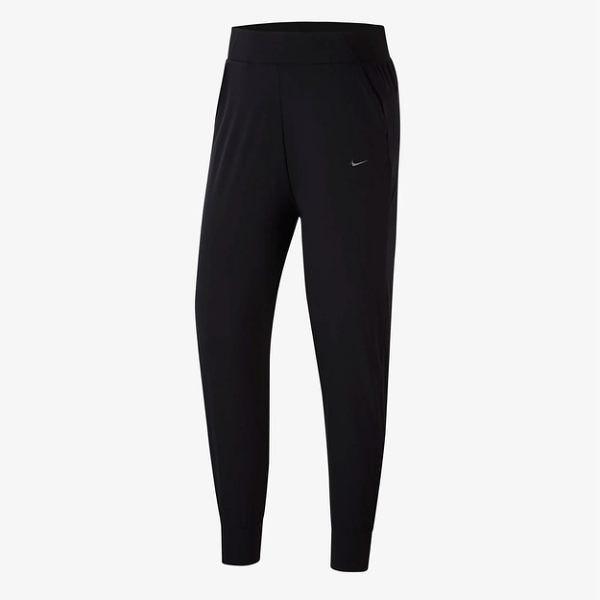 NIKE Bliss Lux 女裝 長褲 慢跑 訓練 錐形褲 中腰 側口袋 透氣 黑【運動世界】CU4612-010
