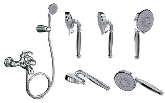 【麗室衛浴】美國KOHLER Fairfax 復古淋浴龍頭 K-72695T-B4-CP(同K-8654K-CP)
