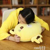 可愛貓咪暖手抱枕插手兩用被子毛絨玩具捂手枕冬季布娃娃女孩禮物  【PinkQ】