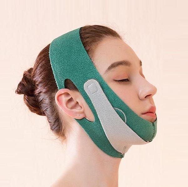 瘦臉神器面罩小V臉繃帶美容儀雙下巴咬肌法令紋睡塑形提拉緊致微