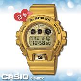 CASIO 卡西歐 手錶專賣店 DW-6900GD-9 JF G-SHOCK 電子錶 日本版 橡膠錶帶 EL冷光照明 閃動響報