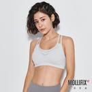 Mollifix 瑪莉菲絲 A++活力雙肩帶舒活BRA (淺灰)