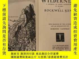 二手書博民逛書店【包罕見】Wilderness:A Journal of Qui