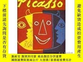 二手書博民逛書店【精裝英文原版畢加索專題】Picasso罕見Posters 《畢加索海報集》畢加索設計的海