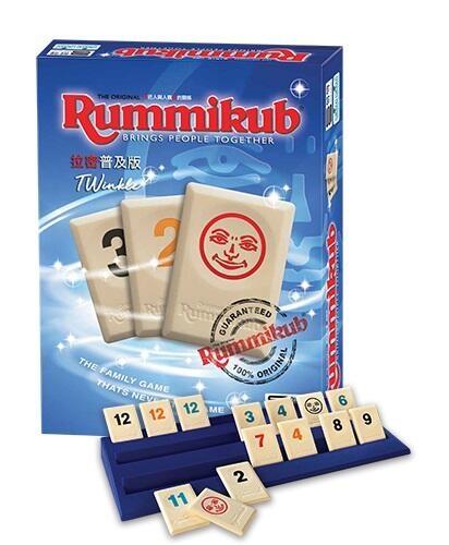『高雄龐奇桌遊』 拉密標準普及版 Rummikub TWinkle 繁體中文版 正版桌上遊戲專賣店
