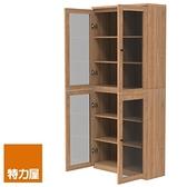 組 -特力屋萊特 組合式書櫃 淺木櫃/淺木層板8入/淺玻門4入 78x30x174.2cm