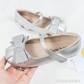 女童皮鞋2019春秋新款兒童豆豆鞋韓版百搭公主鞋軟底女孩單鞋瓢鞋