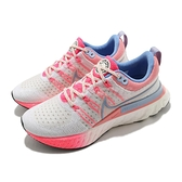 Nike 慢跑鞋 Wmns React Infinity Run FK 2 白 藍 粉紅 針織 女鞋【ACS】 DJ6055-161