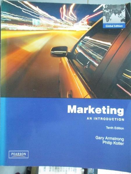 【書寶二手書T9/大學商學_YJA】Marketing: An Introduction_Armstrong,Kotle