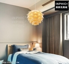INPHIC-簡約吧台後現代LED燈松果北歐餐廳燈玄關吊燈_WUEs