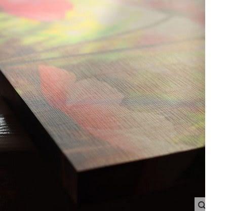 彩虹部落現代家飾無框畫豎3件套(圖一)