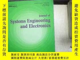 二手書博民逛書店JOURNAL罕見OF SYSTEMS ENGINEERING AND ELECTRONICS VOLUME 29