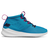 New Balance 女鞋 慢跑 休閒 高筒 輕量 透氣 快速抽繩鞋帶 藍【運動世界】WSRMCST
