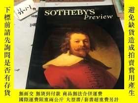二手書博民逛書店英文原版:SOTHEBY'S罕見Preview 1998 JANUARY 蘇富比Y182979 蘇富比 蘇富比