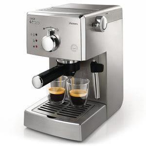 HD8327   PHILIPS 飛利浦 家用半自動義式咖啡機贈不銹鋼奶泡杯