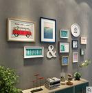 實木照片牆客廳相框牆現代簡約相片牆臥室相...