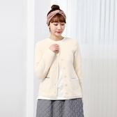 正韓 圓領雙口袋刷毛罩衫 (8417) 預購