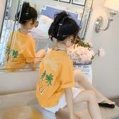 女童短袖2020新款童裝兒童全棉t恤夏裝打底衫中大童夏季上衣體恤 小城驛站