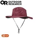 【Outdoor Research 美國 女 抗UV透氣中盤帽《深紅》】243442/遮陽帽/圓盤帽/登山健行