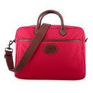 LONGCHAMP Le Pliage系列手提肩背兩用旅行袋(亮紅色)480202-270