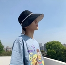 大帽檐漁夫帽男潮牌嘻哈帥氣夏季帽子男潮日系防曬帽太陽帽遮陽帽一米陽光