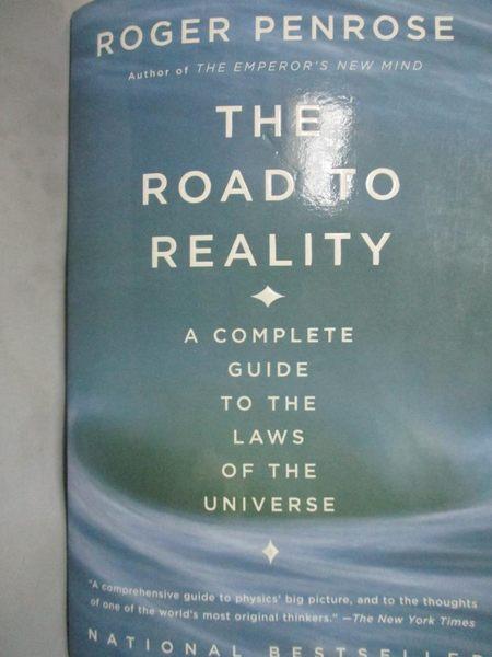 【書寶二手書T2/法律_YEH】The Road to Reality: A Complete Guide…_Penro