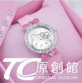 兒童手錶 新款正韓可愛石英女錶兒童手錶女孩防水卡通女童公主錶學生電子錶 TC原創館