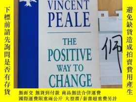 二手書博民逛書店NORMAN罕見VINCENT PEALE THE POSITIVE WAY TO CHANGE YOUR LIF