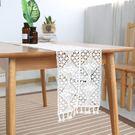 時尚可愛空間餐桌布 茶几布 隔熱墊 鍋墊 杯墊 餐桌巾桌旗290 (24*140cm)