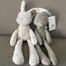 英國ins兔子 哄寶寶睡眠布玩偶新生嬰兒可啃咬布藝毛絨安撫巾玩具