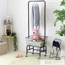 衣架落地臥室簡易北歐鐵藝掛衣架現代簡約家用晾衣服衣架子衣帽架