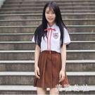 短裙水手服 高中學生班服 日系jk制服畢業演出服 學院風校服套裝 CJ5048『美鞋公社』