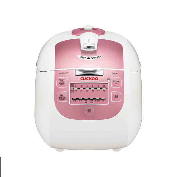 Cuckoo 福庫 1.8真高氣壓智慧型電子鍋  CRP-G1015M  ◆72小時3D立體保溫  ◆蜂巢式內蓋