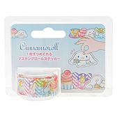 Sanrio 大耳狗喜拿日本製裝飾貼紙膠帶捲(美味甜點)★funbox★_702358
