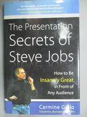 【書寶二手書T4/財經企管_JAI】The Presentation Secrets of Steve Jobs_Car