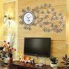 壁掛鐘錶掛鐘客廳創意個性簡約歐式大號靜音臥室藝術時鐘裝飾掛錶  SSJJG【時尚家居館】