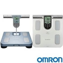 HBF-371+歐姆龍專用環保提袋OMRON體重體脂肪計HBF371時尚銀/藍 (2色備註選一) 醫妝世家