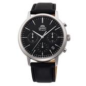 【分期0利率】ORIENT 東方錶 運動系列 鋼帶款 黑色 原廠公司貨 錶徑4公分 RA-KV0303B